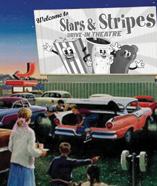 Stars And Stripes Drive In Theatre In Lubbock Movie Times In Lubbock