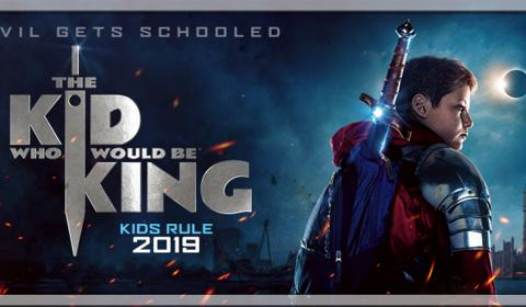 The Kid Who Would Be King Homepage Slider