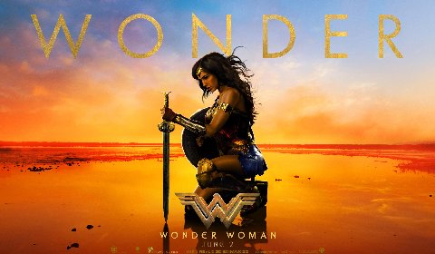 Wonder Woman web banner