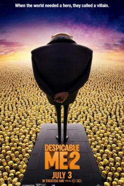 Dispicable Me 2 movie poster