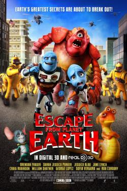 Escape From Planet Earth movie trailer