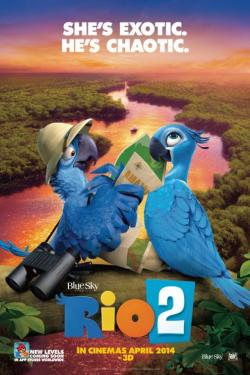 Rio 2 movie poster