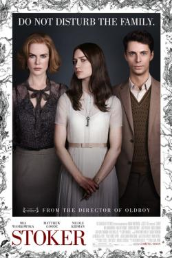 Stoker movie poster