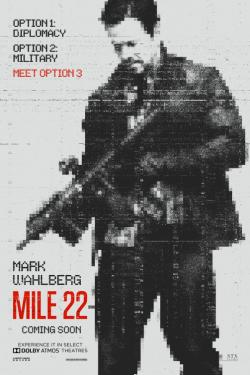 Mile 22 Movie Poster